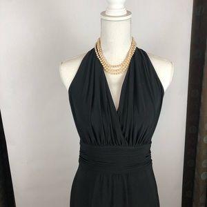 Evan Picone Halter-Style dress
